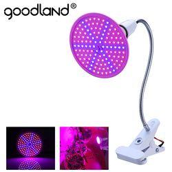 Goodland Фито лампа полного спектра светодиодный Grow Light E27 растительная лампа фитолампа для гидропоники рассады цветок Fitolampy Тепличный тент