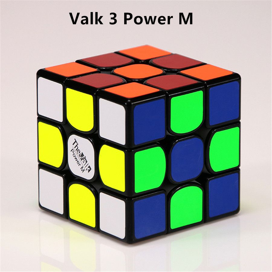 QIYI Mofangge Valk3/POWER M Magnetic Speed Cubo Magico Valk 3 Mini Professional Competition Educational Toy For Children Adult