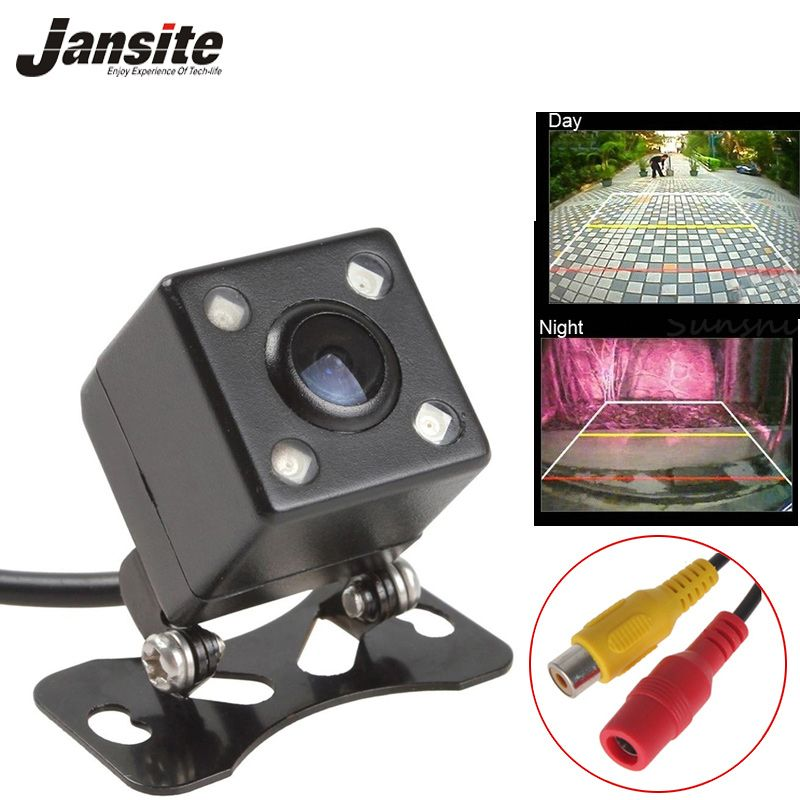 2017 HD Waterproof rear view camera CCD Reversing Parking line 4 LED 140 degree night vision car camera backup camera