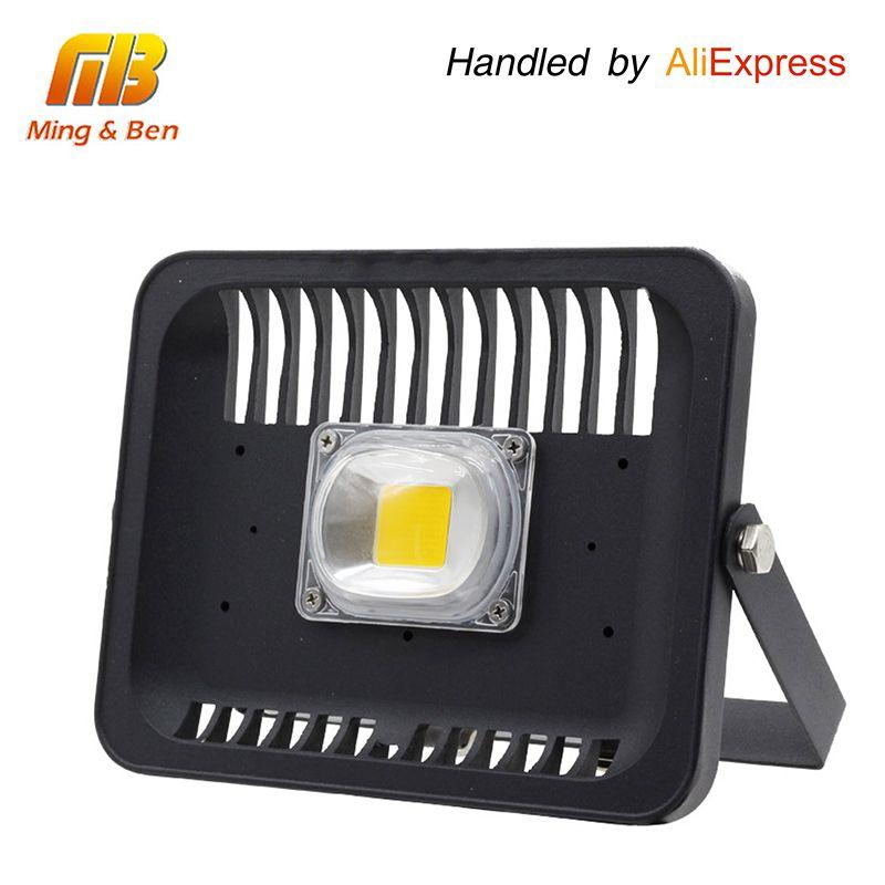 [Mingben] Светодиодный прожектор 30 Вт 50 Вт 100 Вт AC 220 В-240 В IP66 Водонепроницаемый Светодиодный прожектор Прожектор Открытый стеной сад проектор