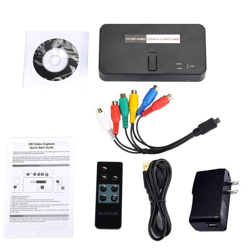 1 Set 1080 P HDMI TV PC Spiel Video Capture Recorder Karte mit IR Fernbedienung ezcap284