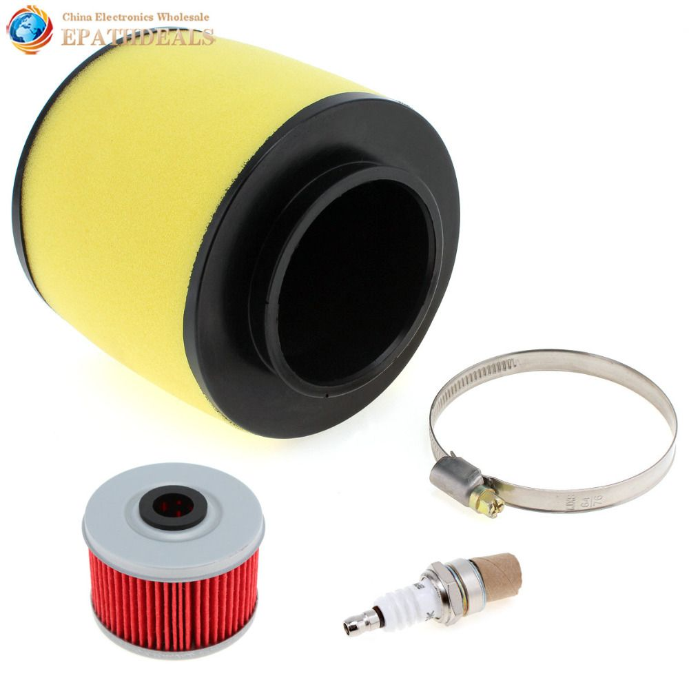 FS-900 Air Filter FS-705 Oil Filter with NGK Plug for Honda Rancher 350 Foreman 400 / 450 Motorcycle Parts Accessories