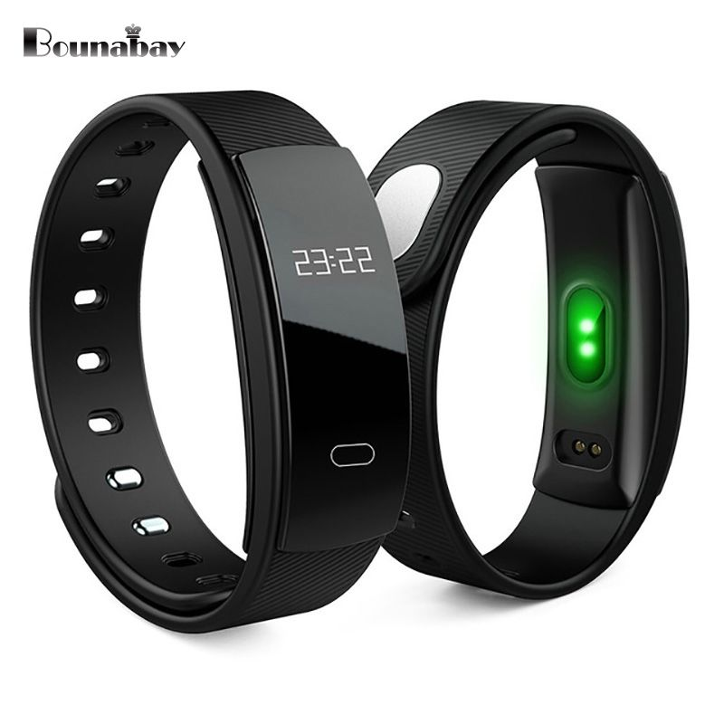 BOUNABAY Smart sport Bracelet watch for women original ladies clock lady Bluetooth waterproof Android ios phone woman watches