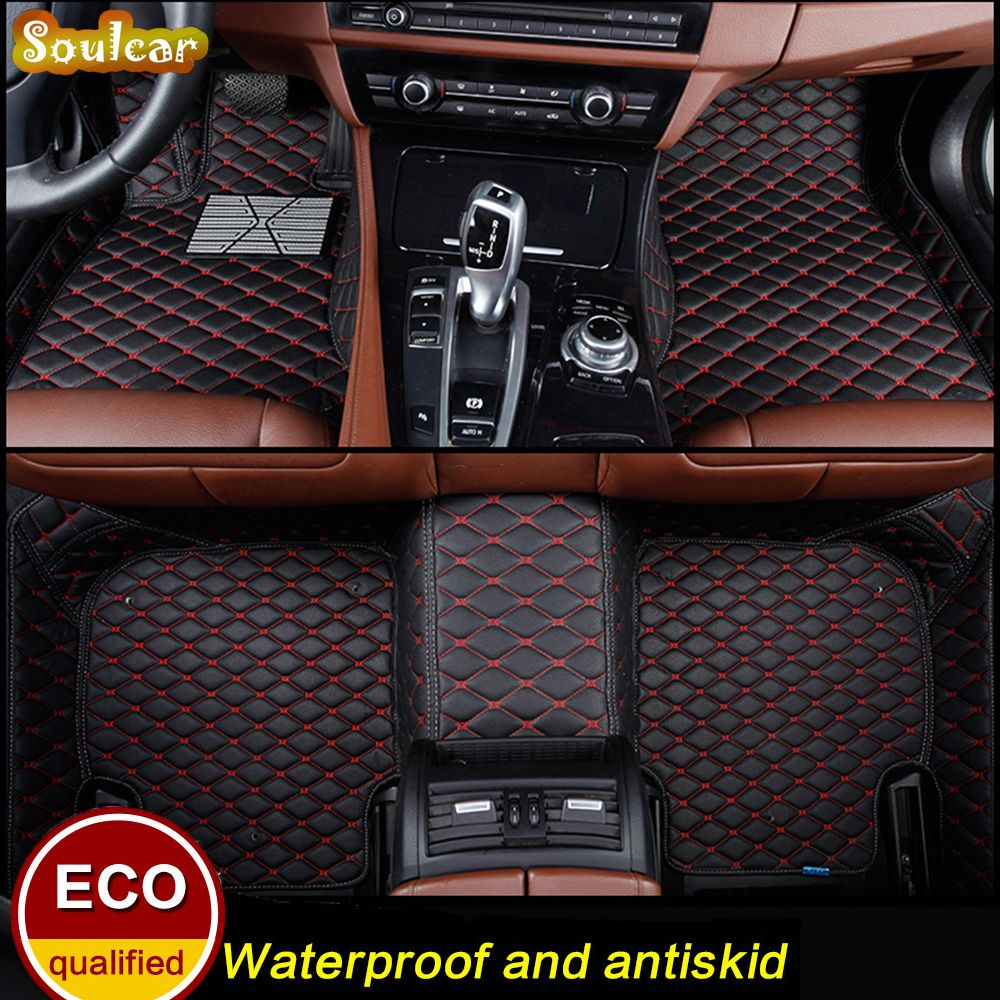 Custom fit Car floor mats for AUDI A8 A8L S8 D2 D3 D4 2000-2017 car floor foot carpet liners mats