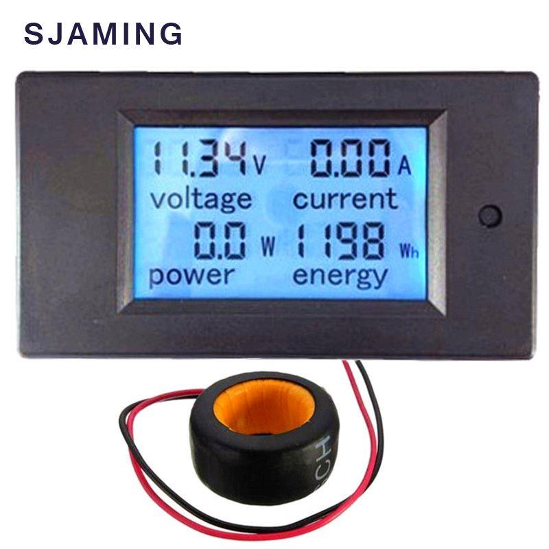 AC Tension Mètres 100A/80 ~ 260 V Numérique LED Power Panel Meter Moniteur Puissance D'énergie Voltmètre Tension Courant mètre Ampèremètre