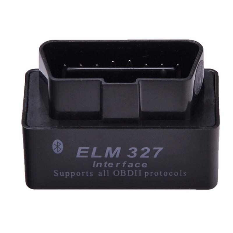 Dernière Version V2.1 Super MINI ELM327 Bluetooth OBD OBD2 Sans Fil ELM 327 Multi-Langue Interface pour Android Couple/PC