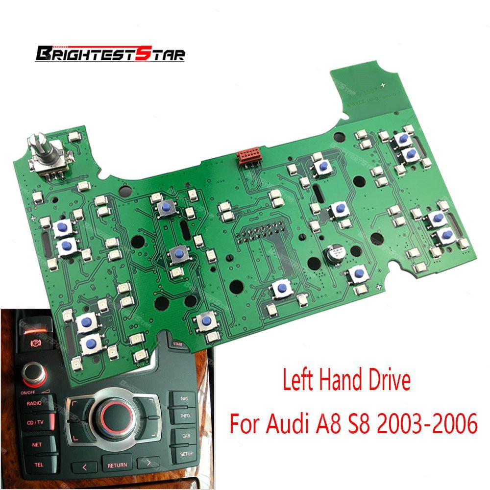 4E1919612 2g MMI Multimedia Interface Control Panel Platine Für Audi A8 S8 2003 2004 2005 2006 PVC und metall