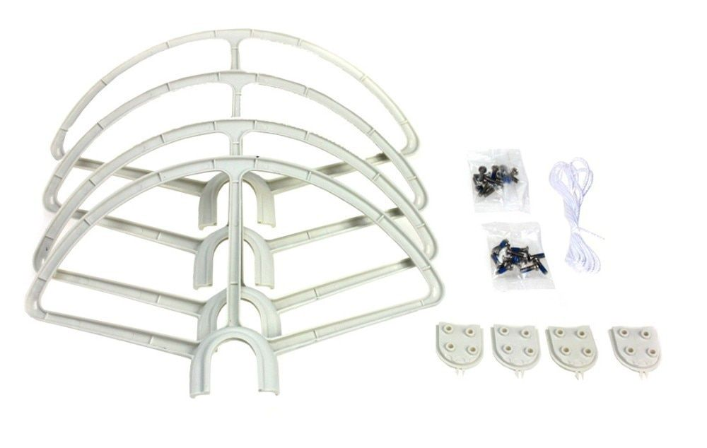 4pcs Quick Release Propeller Bumper Protection Guard Cover for DJI Phantom 1 2 3 RC Helicopter Drone UAV F15631