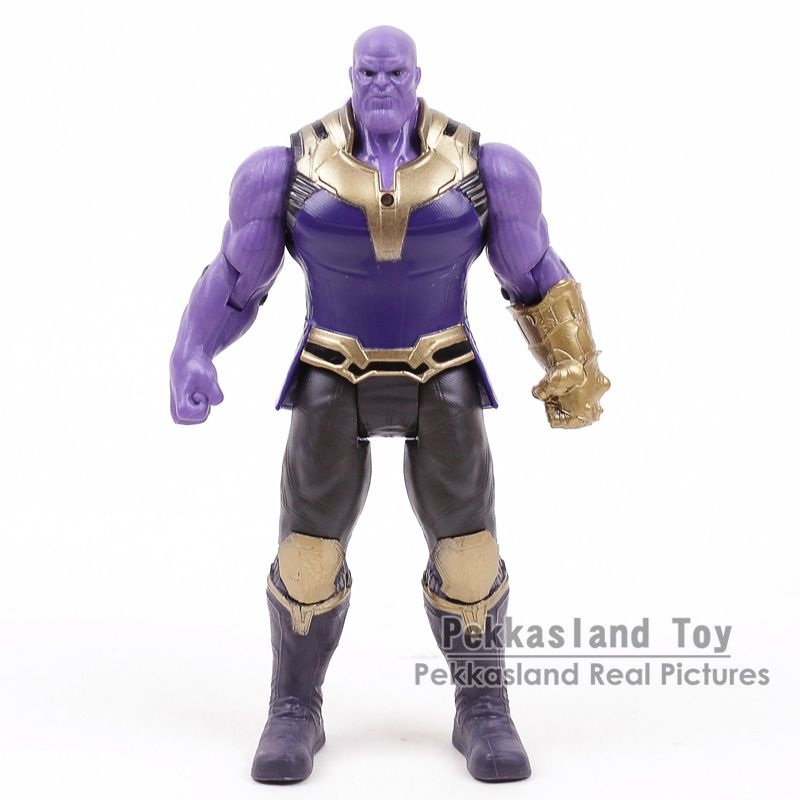Marvel Avengers 3 Infinity War Movable Joints Thanos Action Figures Kids Toys Gifts for Boy 17cm