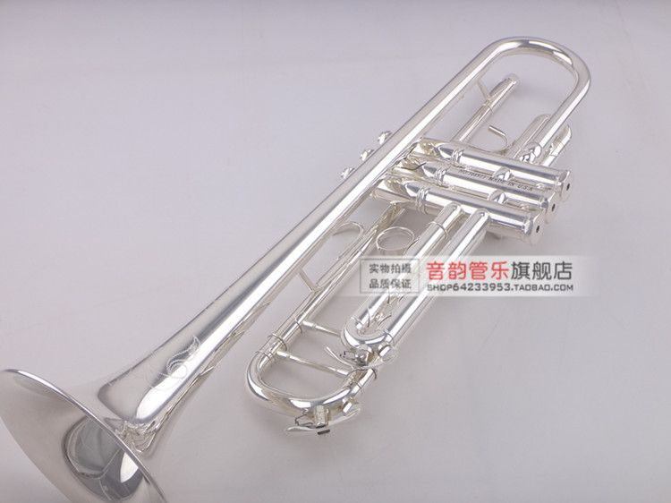 MIDWAY MTR-501 Professional Trumpet Stainless Steel Type Trompeta Brass Instruments Silver Plated Carved Bb Trumpete