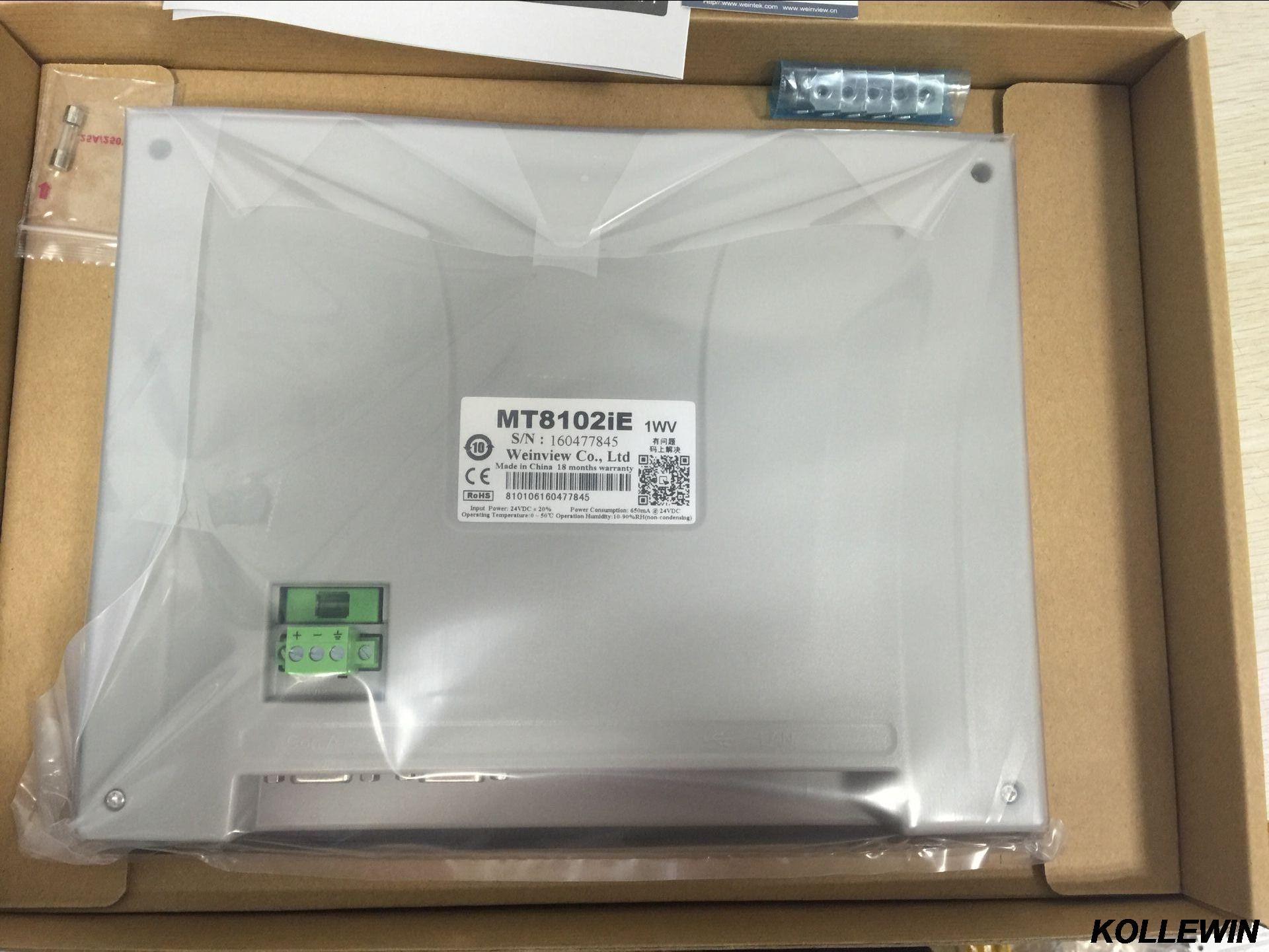 MT8102iE Neue original Weintek Weinview HMI 10,1 zoll Touchscreen 1024x600 Ethernet ersetzen MT8101iE MT8100iE 1 jahr garantie