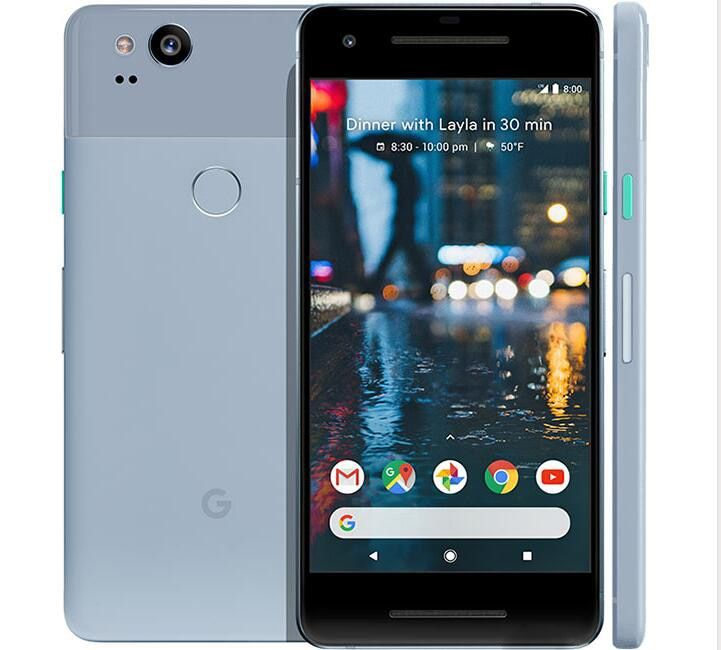 Original Unlocked US version Google Pixel 2 4G LTE 5.0 inch Android cellphone Octa Core 4GB RAM 64GB/128GB ROM Single sim Phone