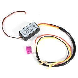 2018 New DRL Controller Auto Car LED Daytime Running Light Relay Harness Dimmer On/Off 12-18V Fog Light Controller Carro