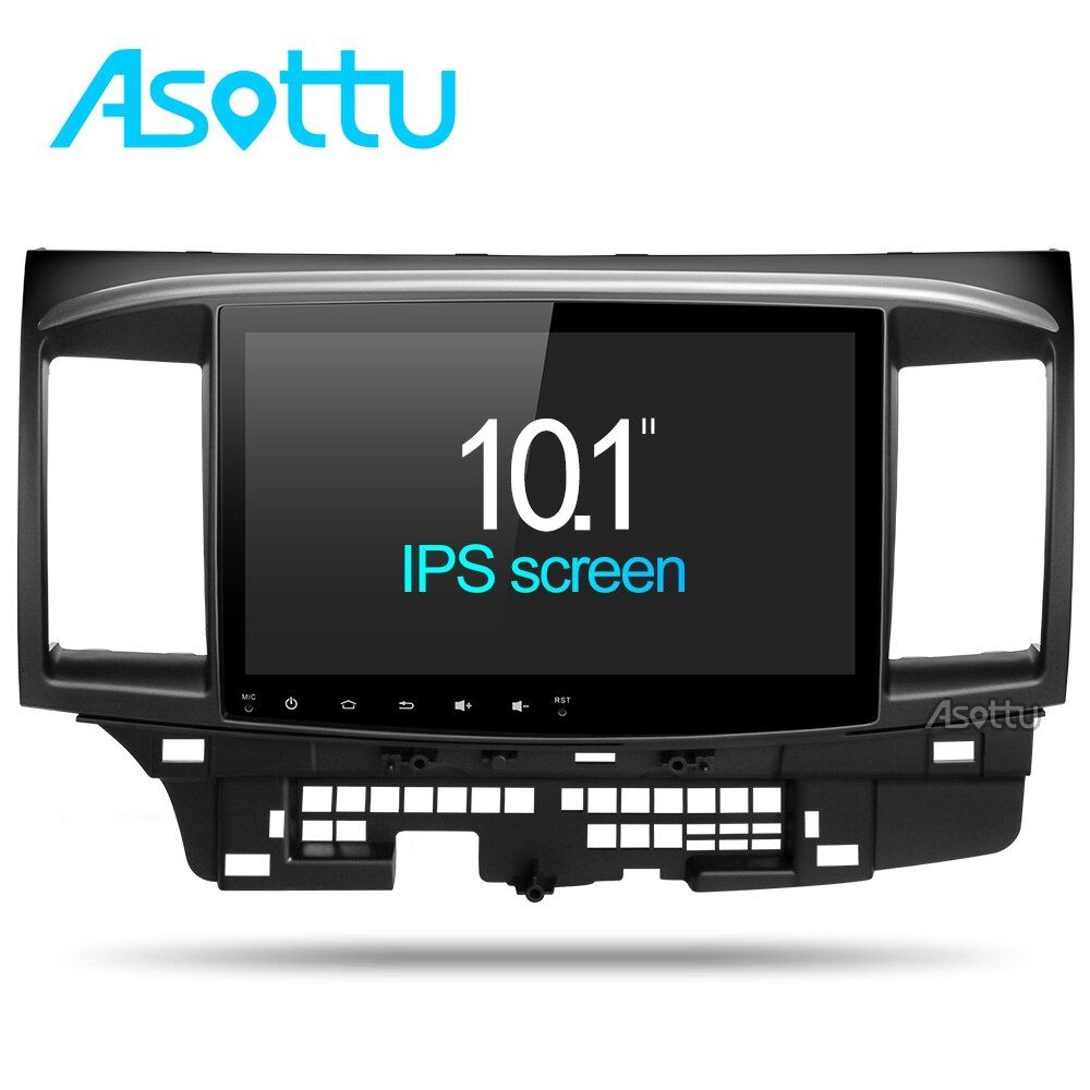 Asottu CYS1060 2G Octa Core Android 7.1 for Mitsubishi Lancer stereo multimedia headunit GPS Radio car dvd gps player stereo gps