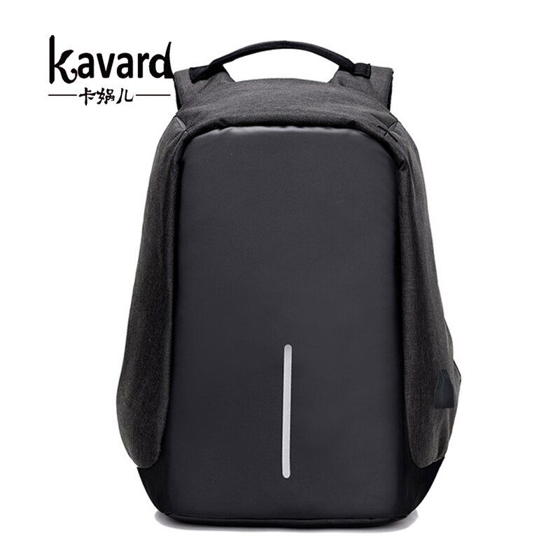 Kavard anti theft backpack Multifunction USB Charge Men 15inch Laptop Backpacks School Bags Mochila Leisure Travel Backpack