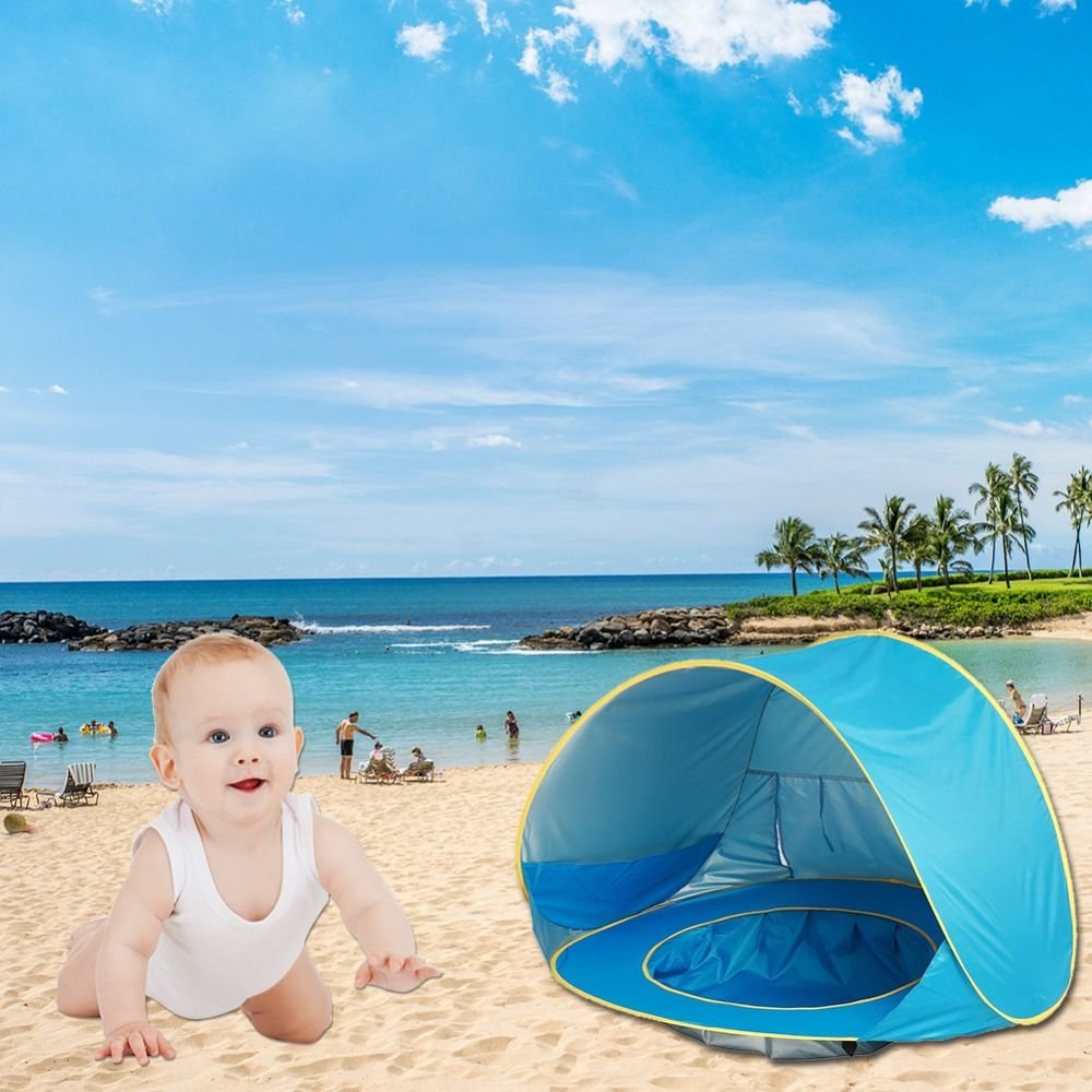 Baby Beach <font><b>Tent</b></font> Pop Up Portable Shade Pool UV Protection Sun Shelter for Infant