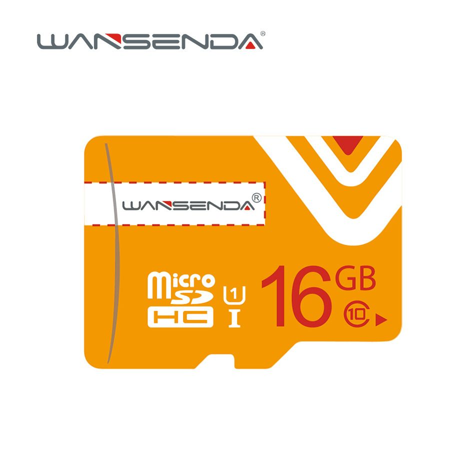 VENTA Wansenda naranja Tarjetas de Memoria 4 gb 8 gb 16 gb 32 gb 64 gb Micro sd Pluma Tarjeta de tarjeta Micro SD con Adaptador libre DEL TF para el Teléfono Móvil