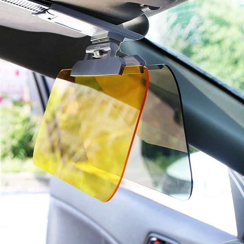 High Quality Day Night Anti-dazzle Car Sun Visor HD  Dazzling Goggles Driving Mirror UV Fold Flip Down HD for Clear View Visor