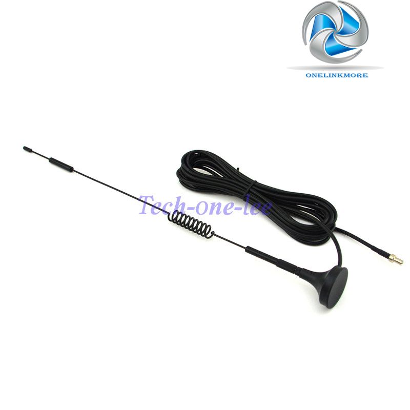NEW 4G 7-8 dbi LTE Antenna 4g Double Screw Aerial 698-960 Mhz with magnetic base TS9 Plug Male RG174 3M for E5372 E5375