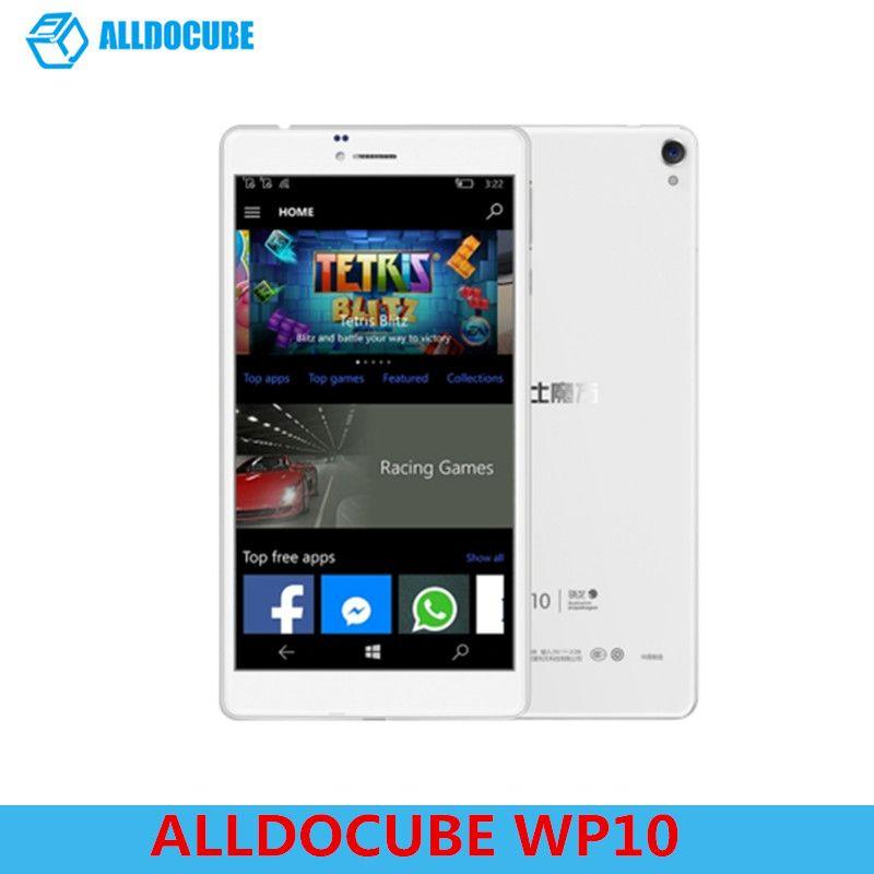 ALLDOCUBE WP10 Tablet PC 6.98'' 4G LTE Phone Call Tablet Windows 10 Mobile Quad Core 1.3GHz 2GB RAM 16GB Camera WiFi OTG GPS