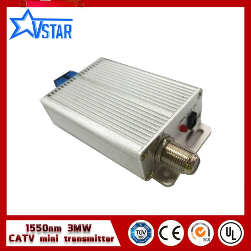 China supplier 1550nm catv optical transmitter 6mw