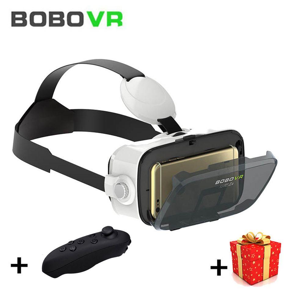 Bobo VR bobovr Z4 мини 3 D Box 3D виртуальной реальности Очки очки гарнитура шлем для смартфон len google cardboard