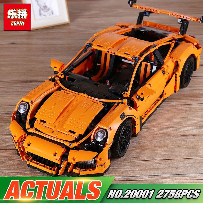 DHL Lepin 20001 20001B Technic Series The 42056 Super Race Car Set Building Blocks Bricks Funny Toys For Kids Car Model Set Gift