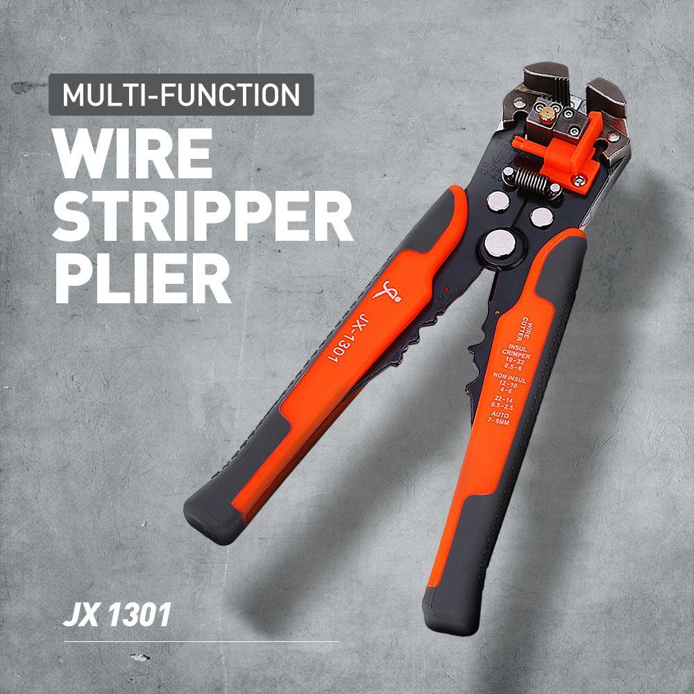 JX1301 décapeur de câble Cutter Pince À Sertir Automatique Multifonctionnel TAB Terminal Sertissage Décapage outils pinces