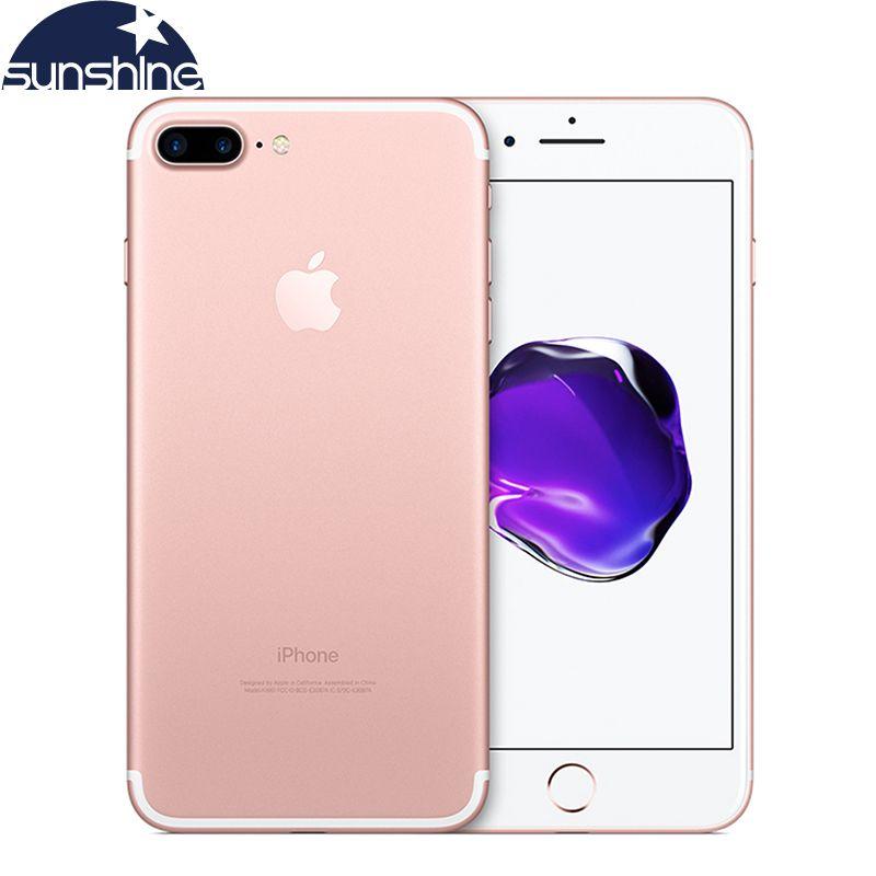 Unlocked Original Apple iPhone 7 Plus LTE Mobile phone 5.5'' 12.0MP 3G RAM 32G/128G/256G ROM Quad Core Fingerprint Smartphone