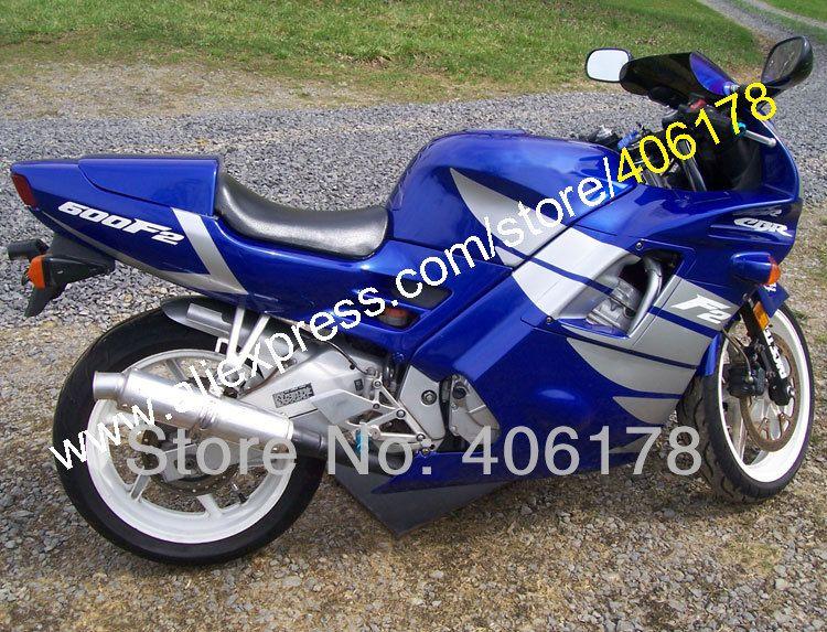 Hot Sales,Motocycle fairings for HONDA CBR600 F2 91 92 93 94 CBR600F2 1991 1992 1993 1994 CBR 600 Blue custom fairings set