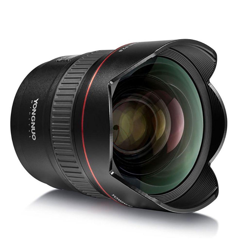 YONGNUO Ultra-weitwinkel Prime Objektiv YN14mm F2.8N Auto Fokus Metall Halterung für Nikon D7100 D5300 für Canon 700D 80D 5D DSLR Kameras