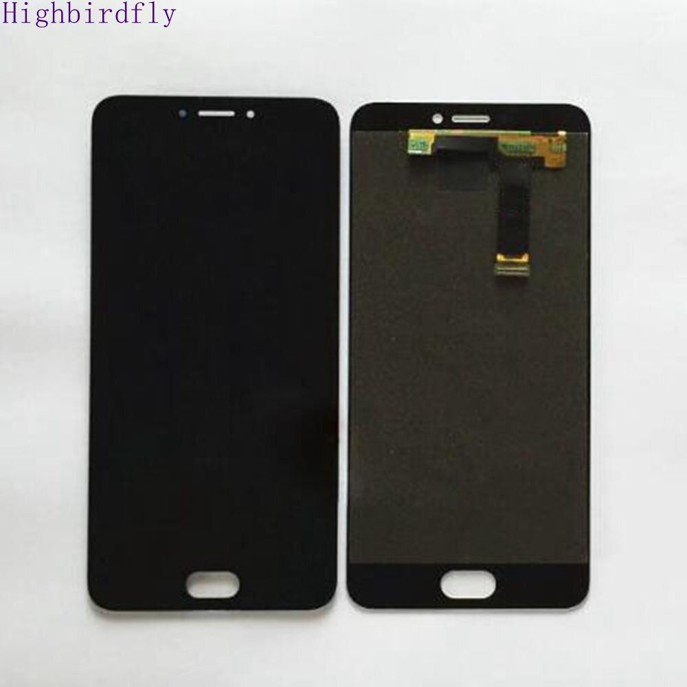 Highbirdfly para meizu Mx6 pantalla LCD con Touch Glass digitizer Asamblea piezas de reemplazo