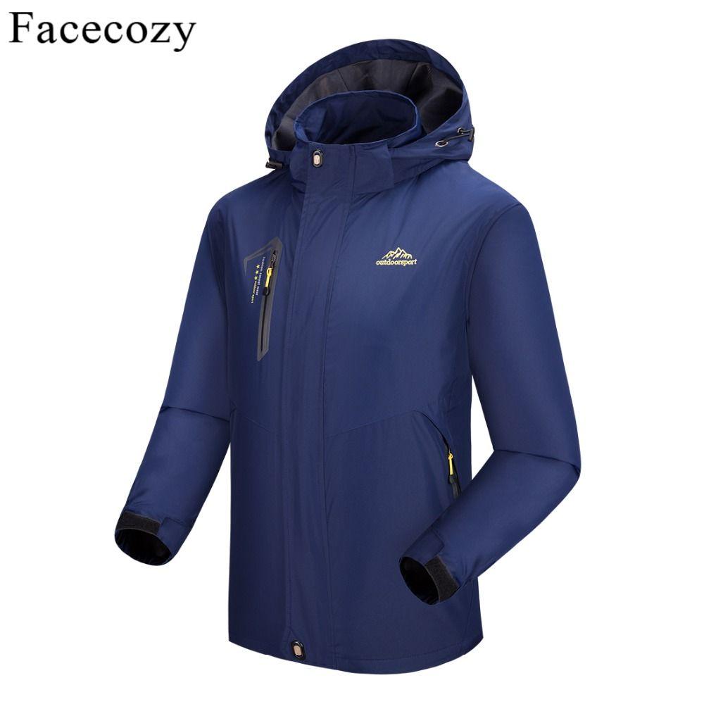 Facecozy 2019 nouveaux hommes femmes extérieur Softshell randonnée vestes homme printemps été Trekking Camping vêtements pour escalade pêche