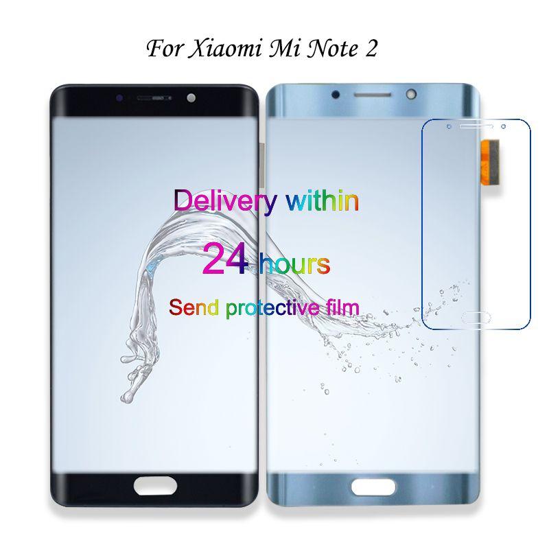 LCD Display Touchscreen Für Xiaomi Mi Hinweis 2 Note2 Handy Lcds Digitizer Assembly Ersatzteile Mit Kostenlose Tools
