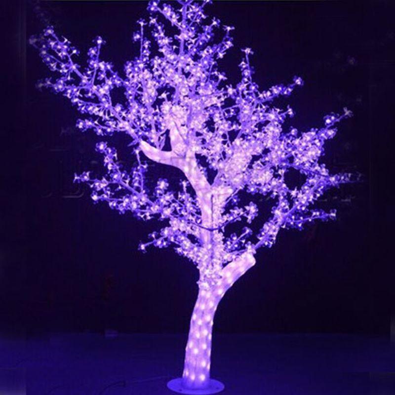 1.8Meters 792LEDS 72Watts christmas tree lights with pink led lights