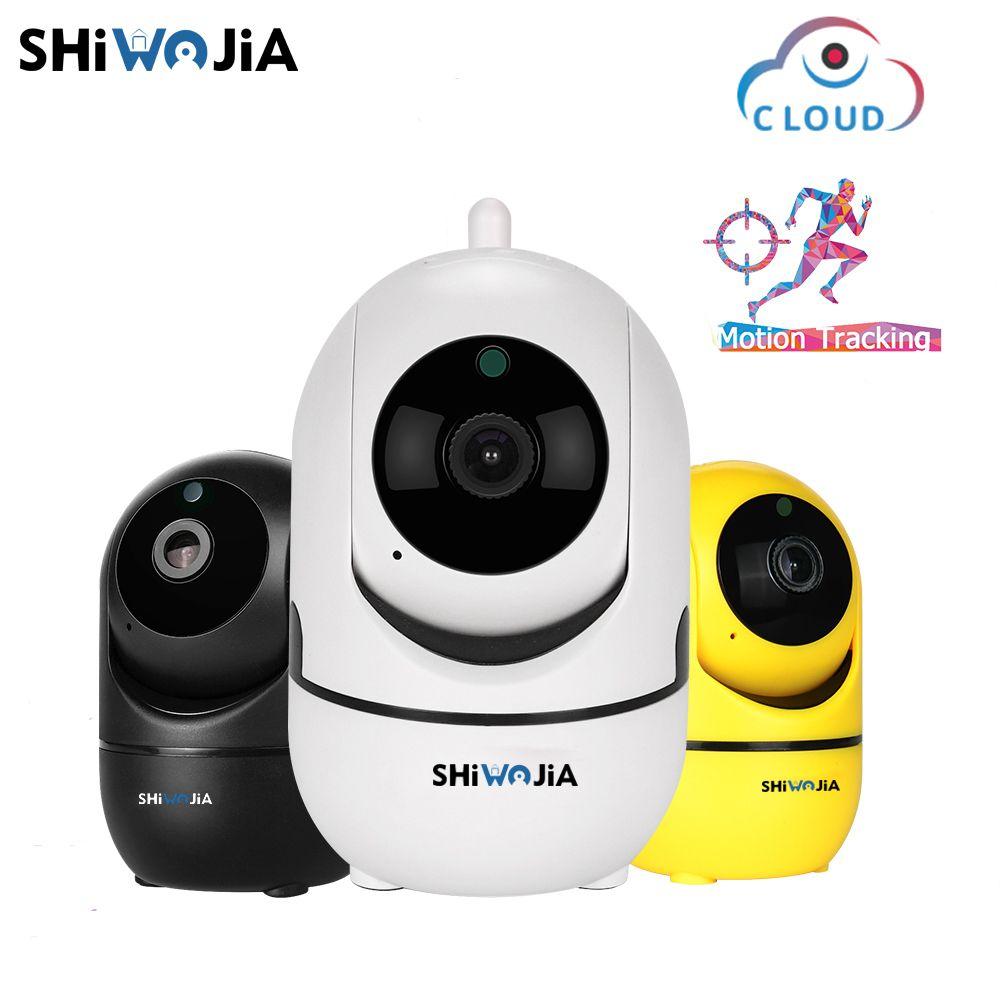 SHIWOJIA 1080 P caméra IP sans fil suivi automatique Intelligent de la Surveillance de la sécurité à domicile humaine CCTV réseau Wifi Cam