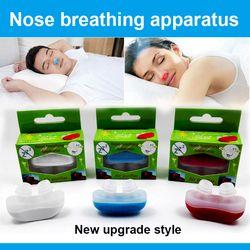 De gama alta aliviar ronquido nariz ronquido detener respiración guardia ayuda para dormir Mini dispositivo ronquido Anti ronquido Silicona