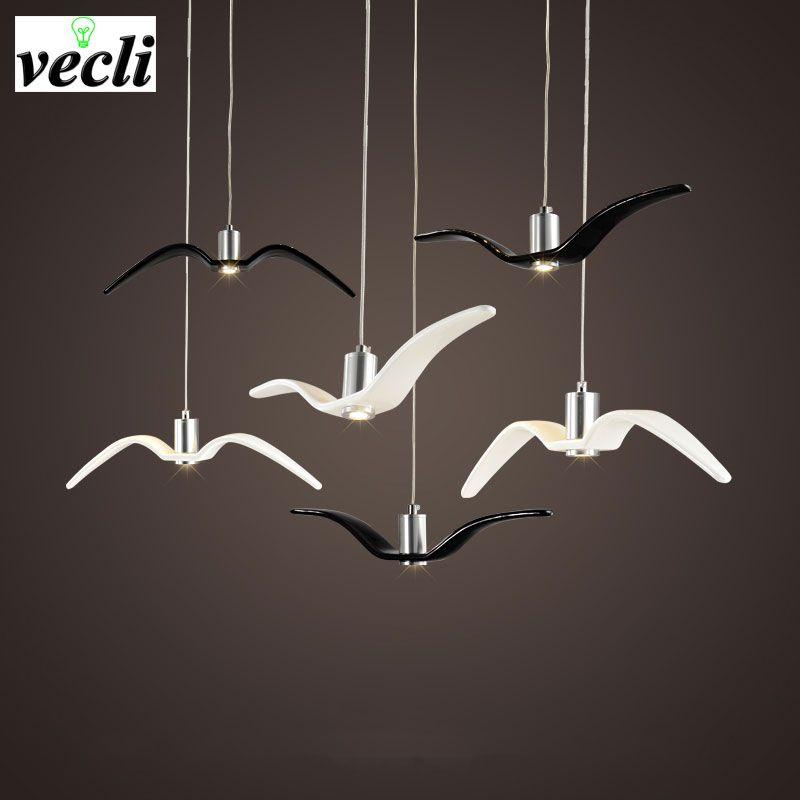 Birds <font><b>pendant</b></font> lights vintage lamp resin bird fabric lampshade for kitchen lighting Study dining room retro loft <font><b>pendant</b></font> lamp