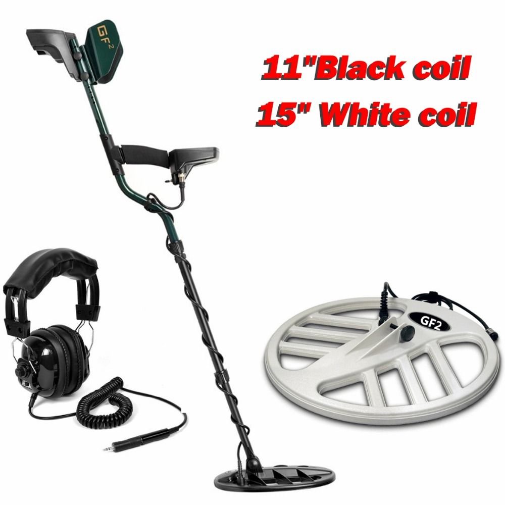 Professional Underground Metal Detector GF2 Treasure Hunter LCD Display with 11