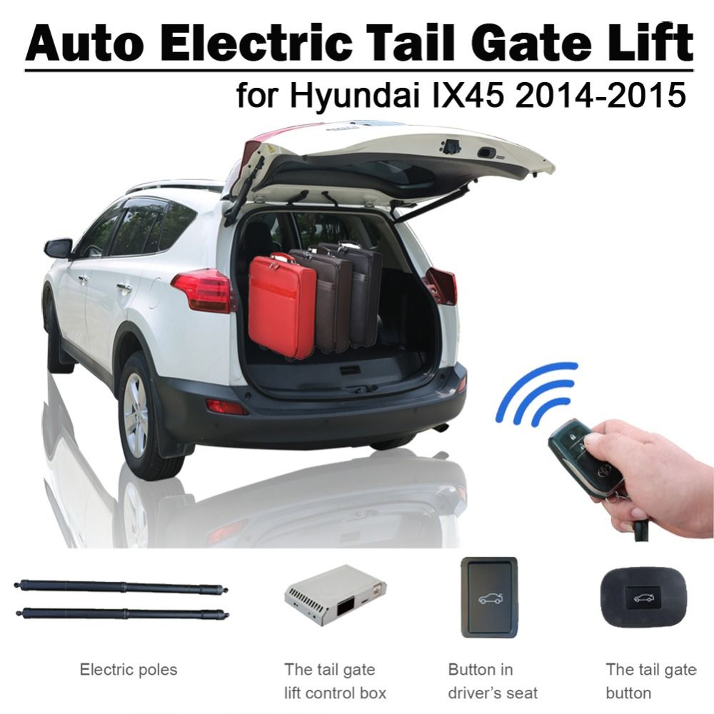 Electric Tail Gate Lift for Hyundai IX45 Santa Fe 2013 2014 Remote Control Drive Seat Button Control Set Height Avoid Pinch