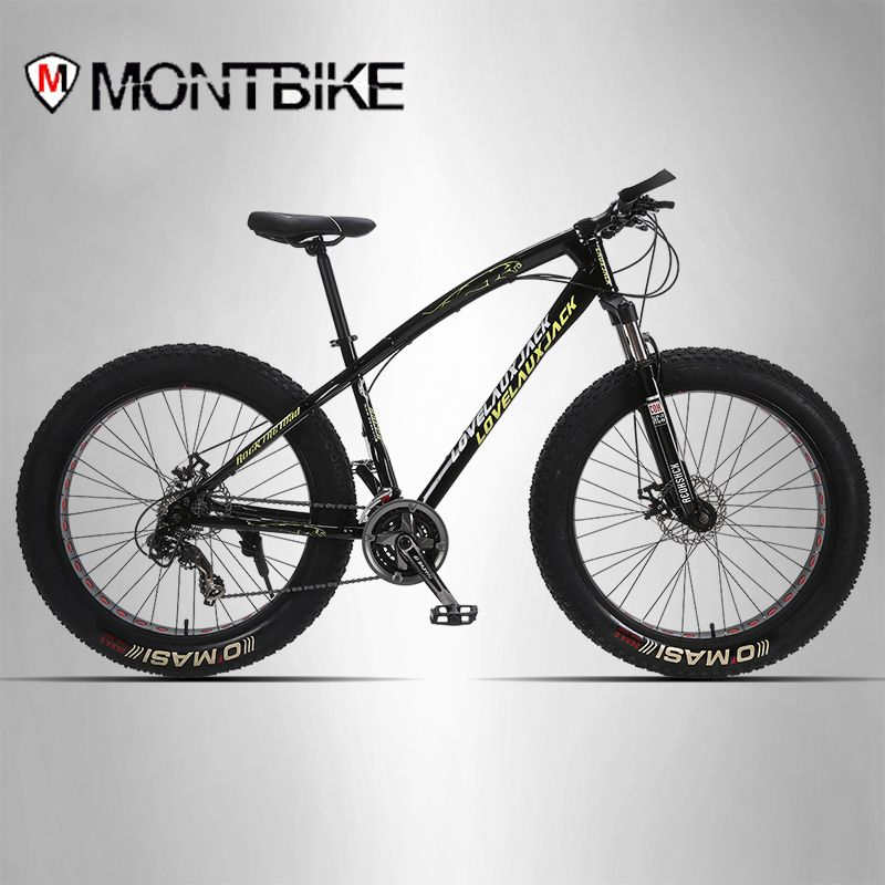 LAUXJACK mountain bike steel frame 24 speed Shimano disc brakes 26