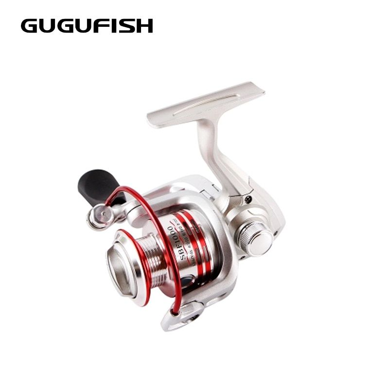 GUGUFISH All metal fishing wheel All Metal head spinning wheel Metal rocker arm Left/Right Hand Fishing Reels 1000-5000 series