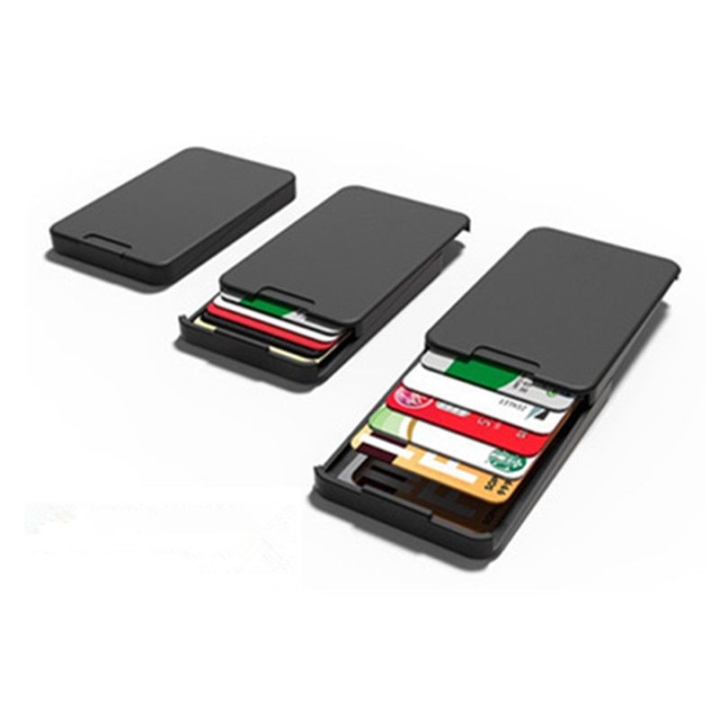 Zenlet New Arrivals The Ingenious Wallet BLACK The MINIMALIST & INGENIOUS WALLET Card Horder