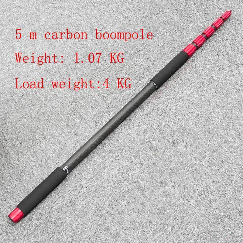 JIEYANG JY90C JY100C JY500C carbon faser boompole mikrofon pol Mic aufnahme mikrofon stange boom pole Speedlite Stick 3 m 5 m