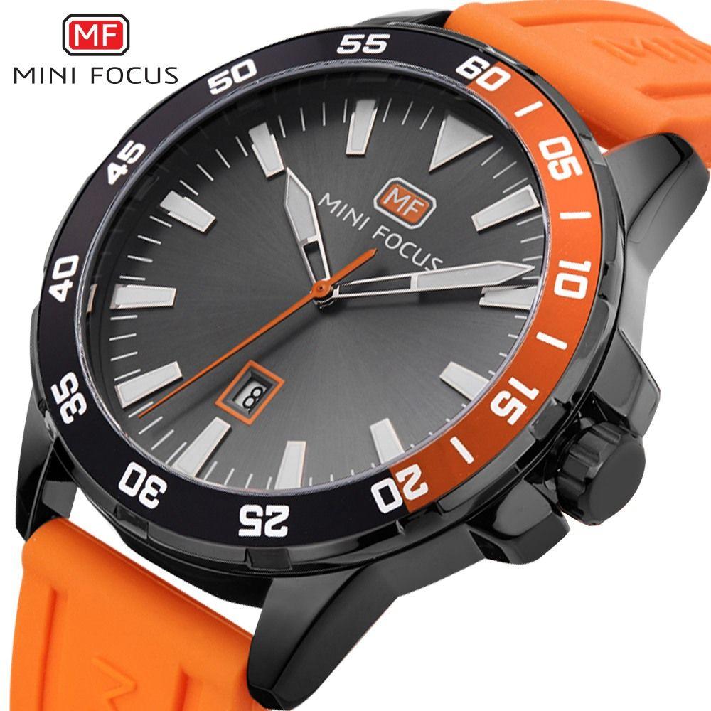 MINI FOCUS 2019 mode montre à Quartz hommes montres Top marque de luxe homme horloge Sport hommes montre-bracelet Hodinky Relogio Masculino