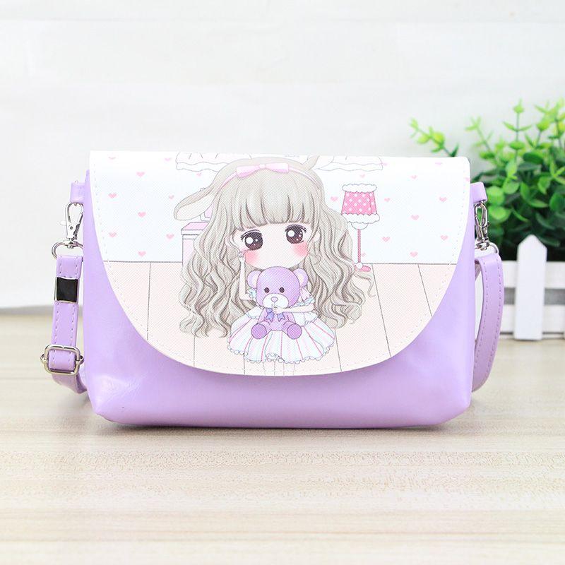 Katunter Fashion Baobao Cute Women Bag Handbag Purse Woman Leather Shoulder Bags Girls Cartoon Mini Crossbody Bag Bolso KB025