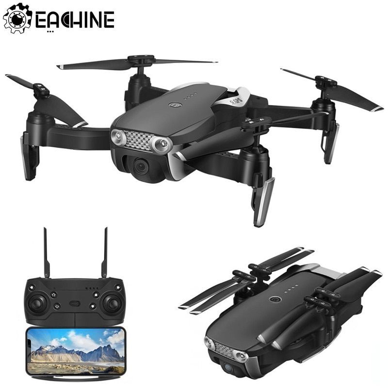 Eachine E511S GPS Dynamic Follow WIFI FPV With 1080P Camera 16mins Flight Time RC Drone Quadcopter 5G WiFi 1080P Three Batteries