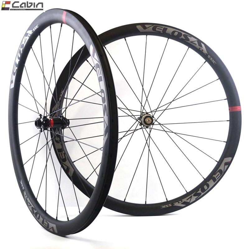 700C rennrad rad cyclocross Kies rad, Velosa CX30 30mm tiefe 27,5mm breite rad, tubeless ready, super licht