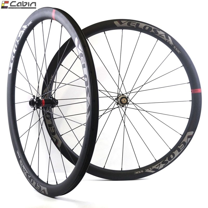 700C road bike wheel cyclocross Gravel wheel,Velosa CX30 30mm depth 27.5mm width wheel,tubeless ready, super light