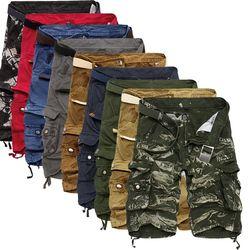 Shorts Cargo Hommes Cool Camouflage D'été Vente Chaude Coton Casual Hommes Pantalon Court Marque Vêtements Confortable Camo Hommes Shorts Cargo